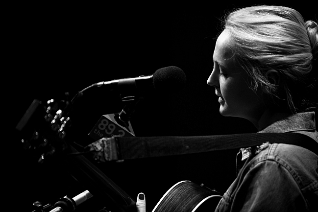 Laura Marling in the UBS Forum. August 14, 2013.