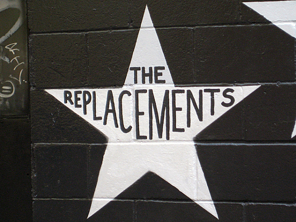 The Replacements among the First Avenue stars.