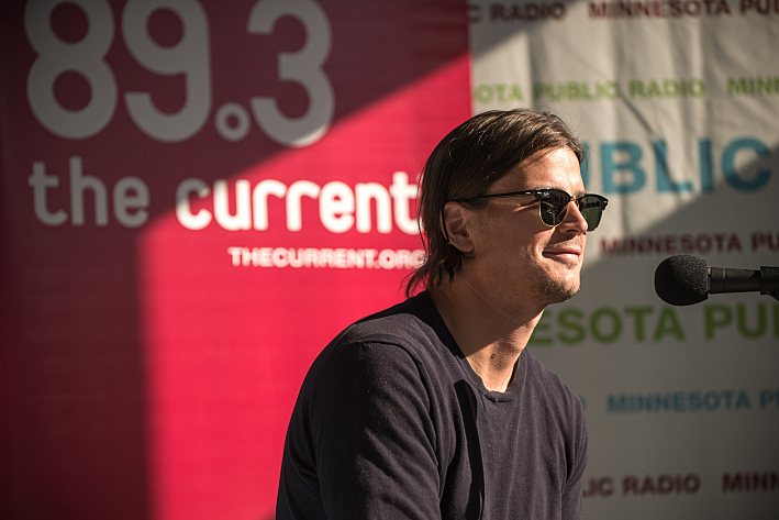 Actor and Twin Cities native Josh Hartnett takes over the airwaves during a special Theft of the Dial from the Minnesota State Fair, Friday, Aug. 23, 2013.
