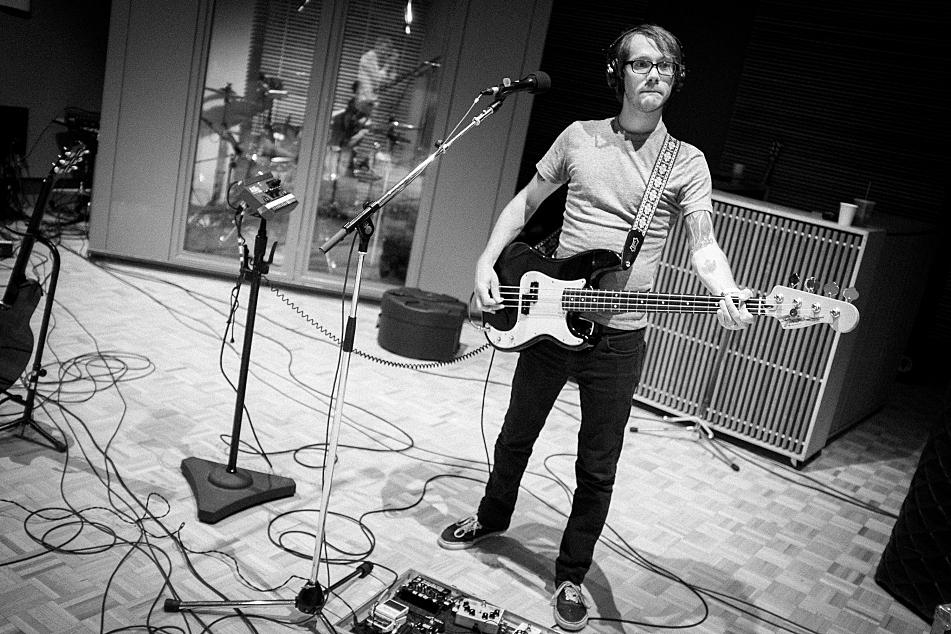 Desaparecidos perform in studio at The Current.