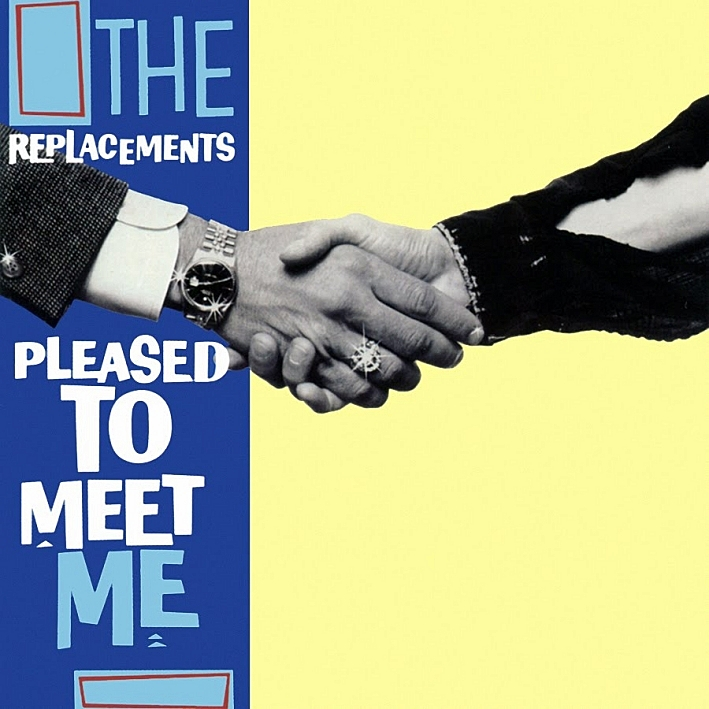 The cover of the Replacements' album, 'Pleased to Meet Me.'