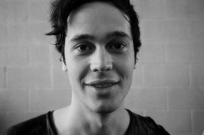 Ernest Greene, the brains behind Washed Out.
