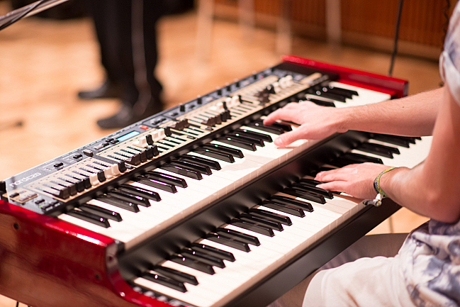 Greg Coulson on keys for The Selecter.