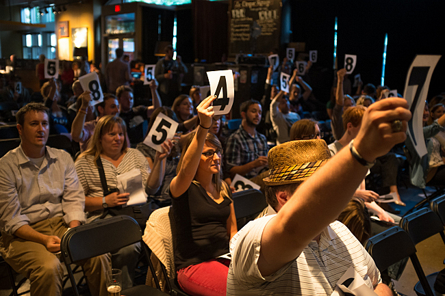 A new track played at the public music makes polarizes the crowd's ratings.