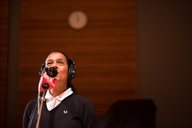 Front woman Pauline Black of The Selecter