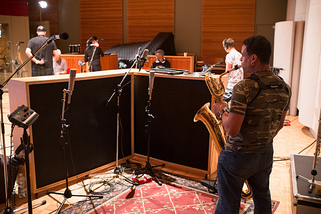 Members of The Selecter make themselves at home in The Current's studio.