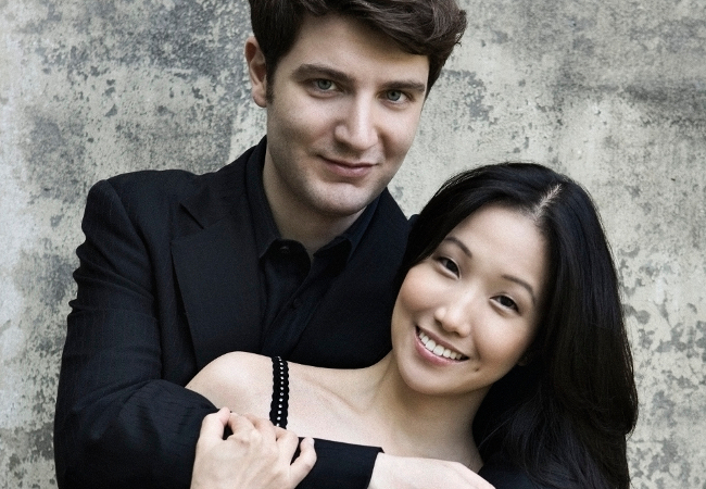 Pianists Alessio Bax and Lucille Chung