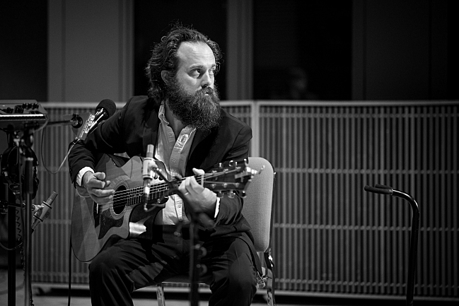 Sam Beam of Iron & Wine performing live in The Current studios.