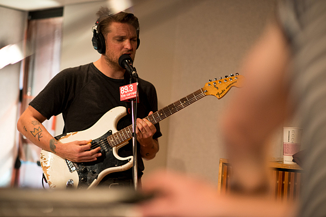 Cold War Kids frontman Nathan Willett performing live in The Current studios.
