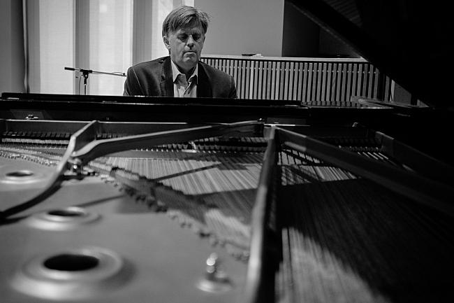 Pianist Stephen Prutsman performs at the the Maud Moon Weyerhaeuser Music Studio in St. Paul, MN