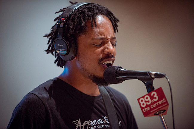"Black Joe Lewis performs ""Come to My Party"" in The Current studios."