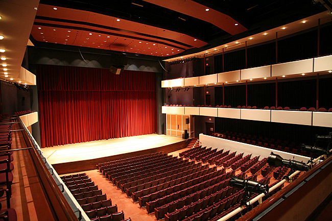Ted Mann Concert Hall at the University of Minnesota in Minneapolis. (Courtesy of University of Minnesota)