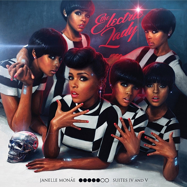 Janelle Monae's 'Electric Lady' album cover.