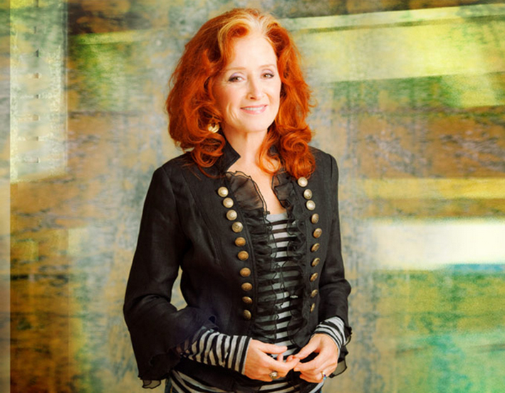 Singer-songwriter and guitarist, Bonnie Raitt.