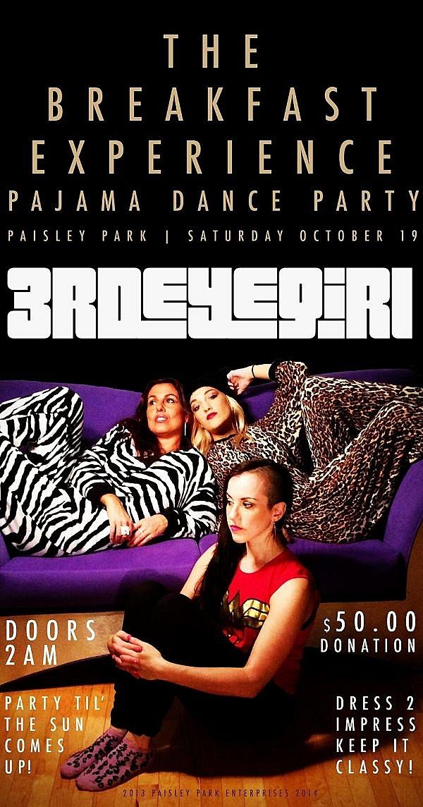 Prince Pajama Party