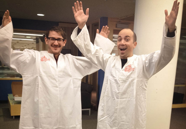 Instant Halloween costume: Polyphonic Spree robes!