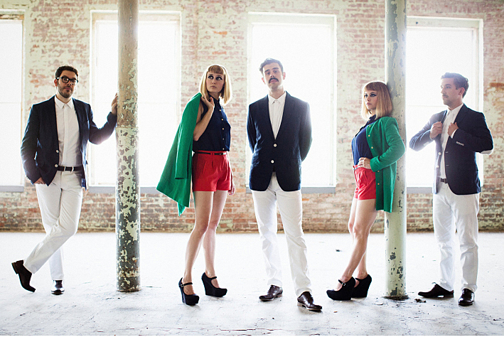Indie-pop band Lucius are based in Brooklyn, N.Y.