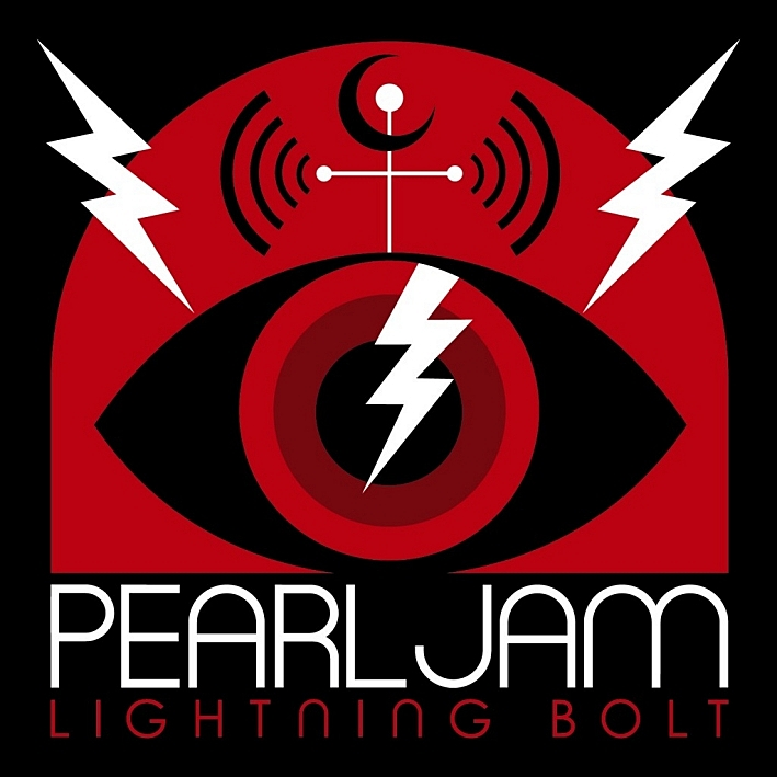 Cover of Pearl Jam's new album, 'Lightning Bolt'.