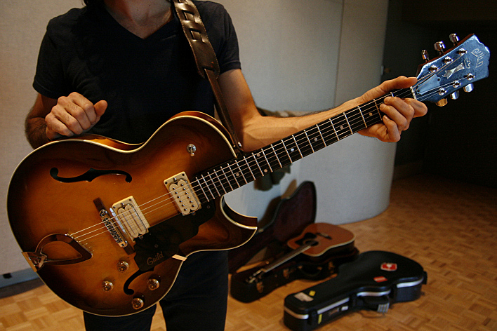 Jonathan Russell's 1976 Guild Starfire