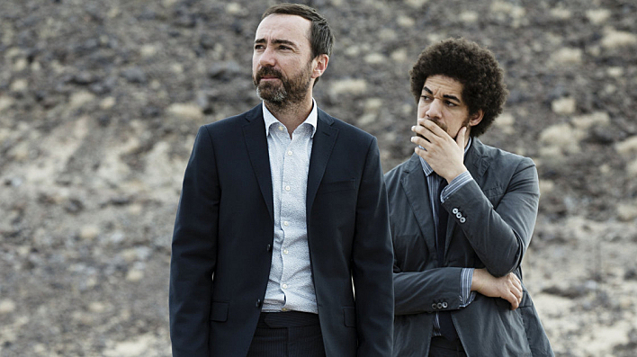 Broken Bells -- James Mercer (left) and Brian Burton (a.k.a. Danger Mouse) -- are back with a new album. 'After The Disco' is due out in January.