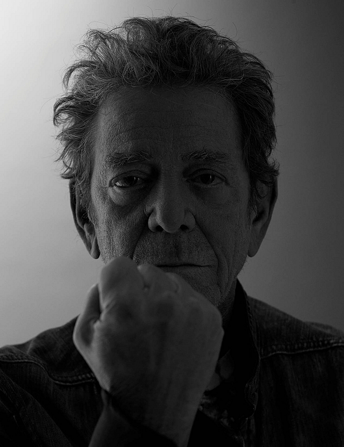 Lou Reed's final portrait, a photo shoot for German headphone manufacturer Parrot Zik