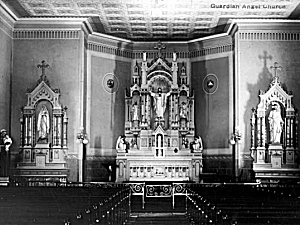 Guardian Angels Church, Hastings, in the 1930s