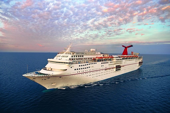 The Carnival cruise ship 'Fascination.'