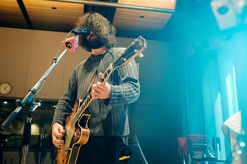 Sebadoh's Lou Barlow performs live in The Current's studio.