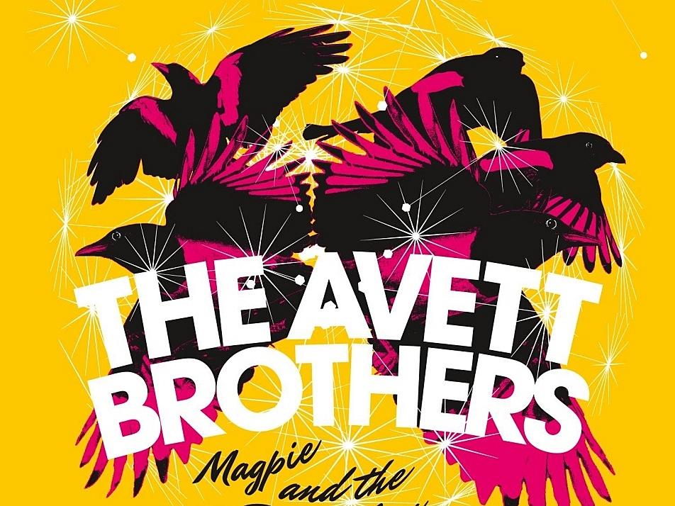 The Avett Brothers' new album, 'Magpie and the Dandelion'.