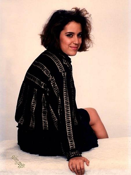 Teenage Kicks host Jacquie Fuller in 1987.