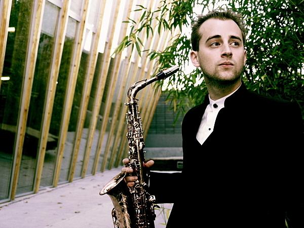 Saxophonist Jonathan Wintringham