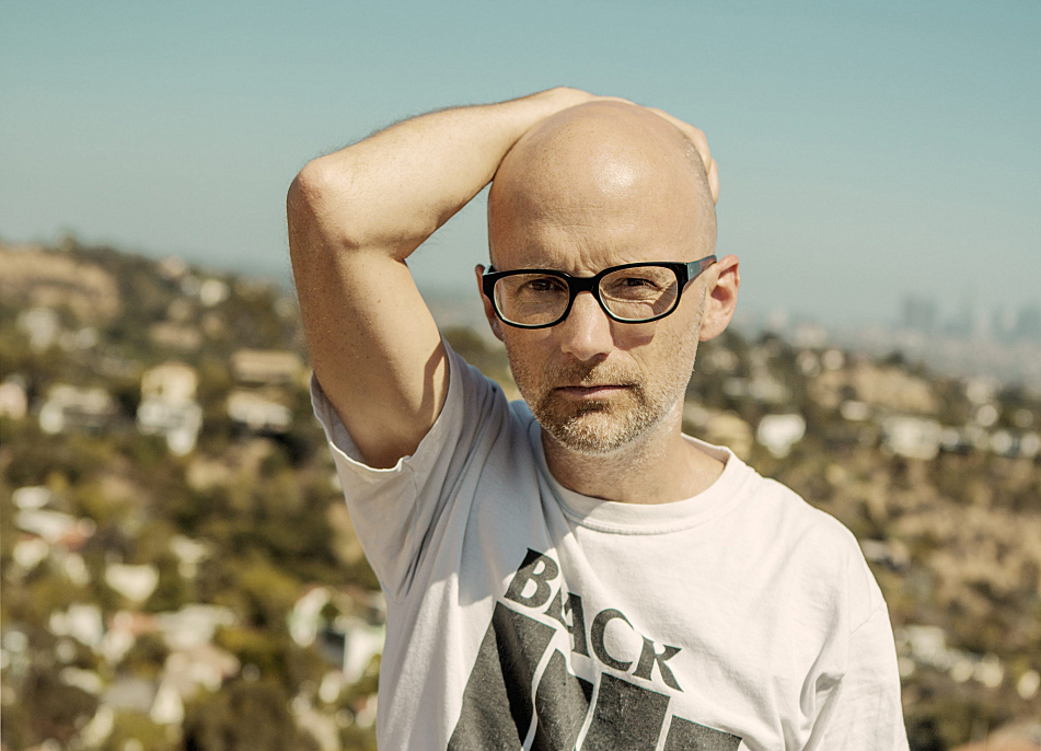 Moby now lives in Los Angeles. He says L.A.'s cars, houses and radio influenced certain elements of his album, 'Innocents'.
