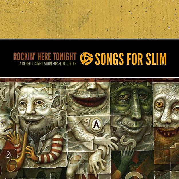 The 2-CD set, 'Songs for Slim'.