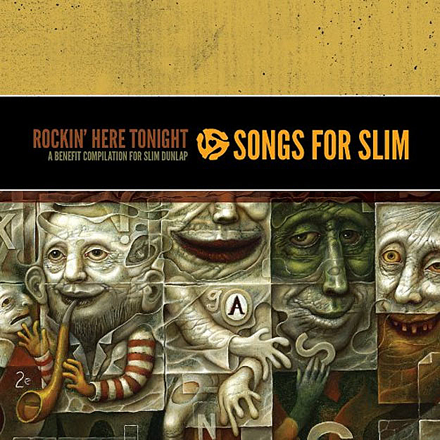 The 2-CD set, 'Songs for Slim'.