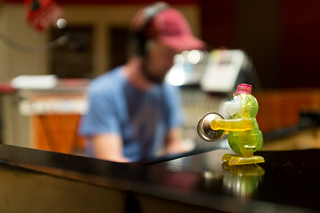 Dosh performs in The Current studios