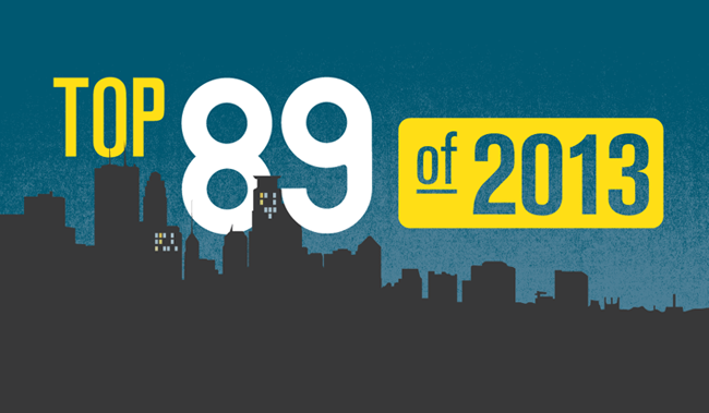 Our annual poll, the Top 89 (of each year) collects of our audience's favorite songs.
