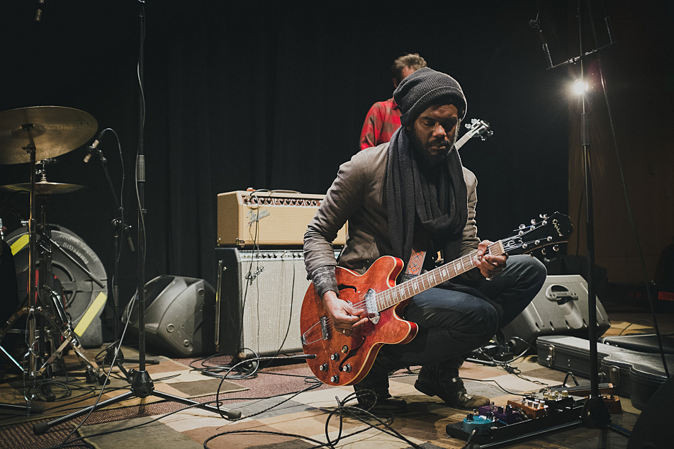 Gary Clark Jr. performs live in the UBS Forum at Minnesota Public Radio.