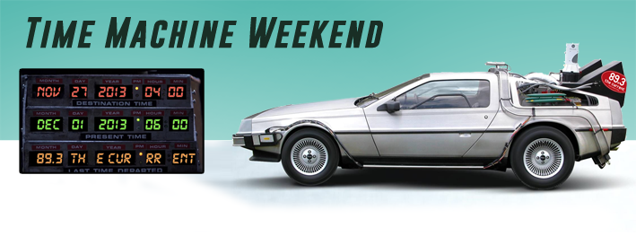 Time Machine Weekend