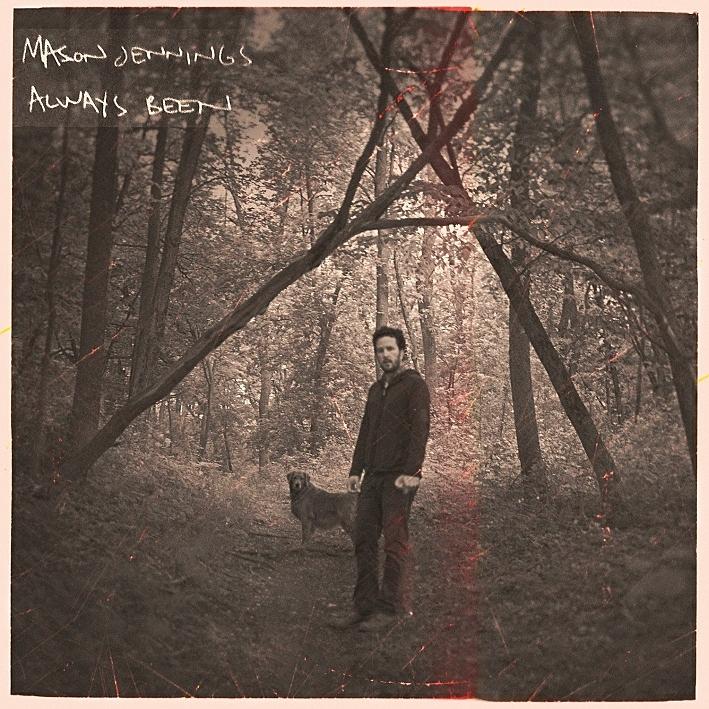 Cover art for Mason Jennings' new album, 'Always Been'