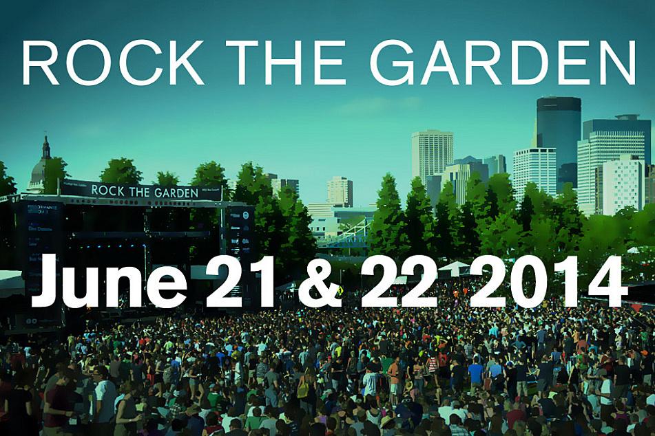 Mark your calendar for Rock the Garden 2014.