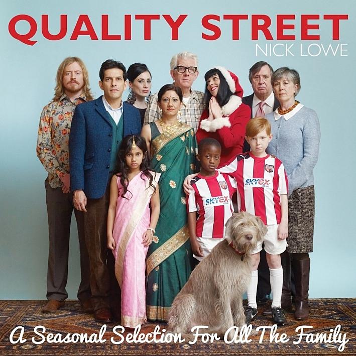 Nick Lowe's seasonal album, 'Quality Street'