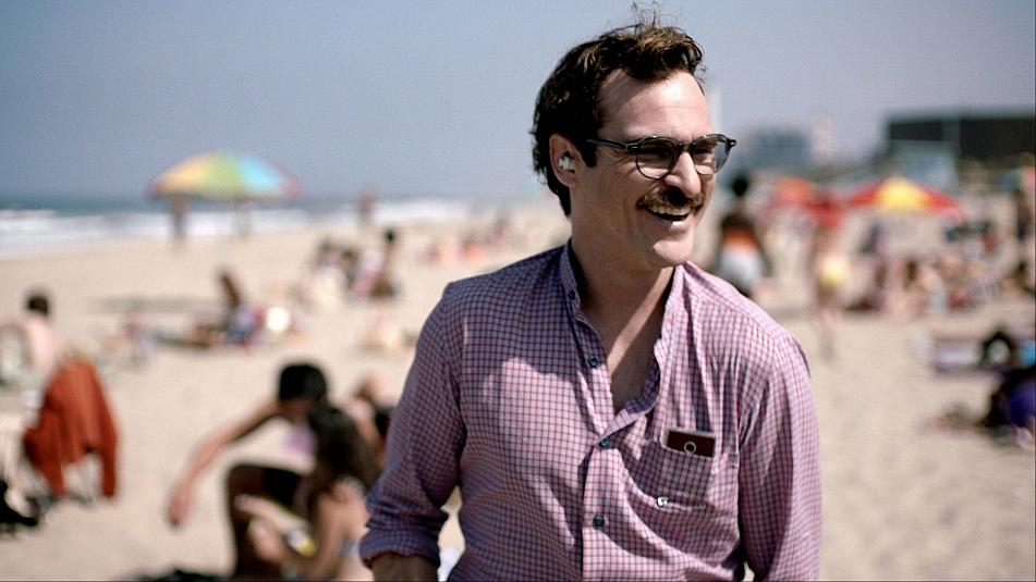 Joaquin Phoenix stars in the new film, 'Her'.