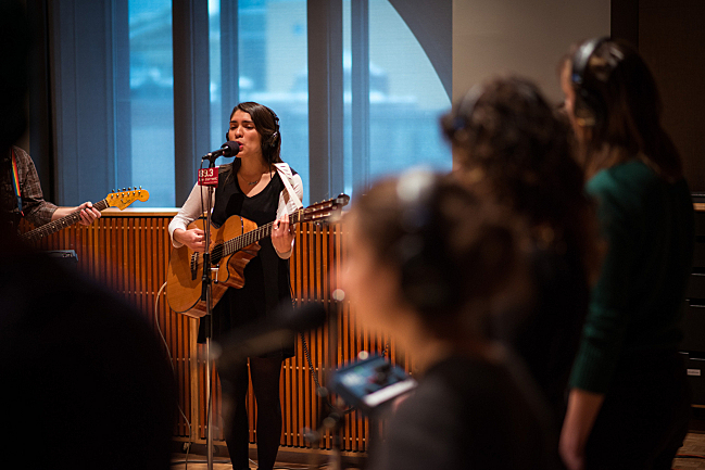 Buffalo Moon performs in The Current studios
