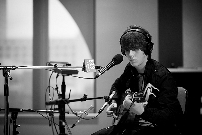Jake Bugg performs live in The Current studios.
