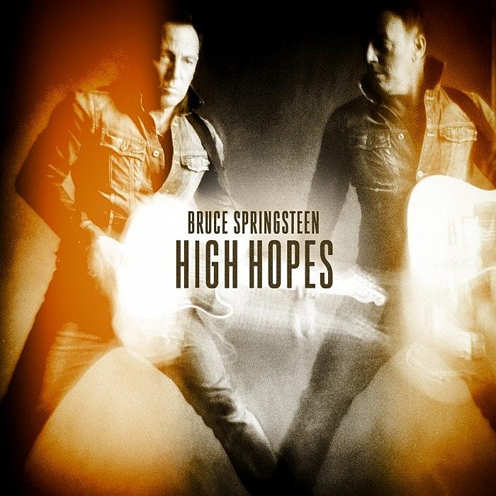 Cover art of Bruce Springsteen's 'High Hopes' album.