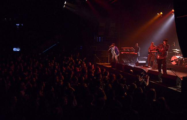 Heiruspecs rock a sold out crowd at The Current's ninth birthday.