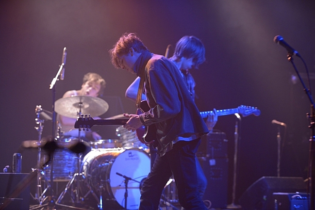 Howler playing live at The Current's Ninth Birthday Party