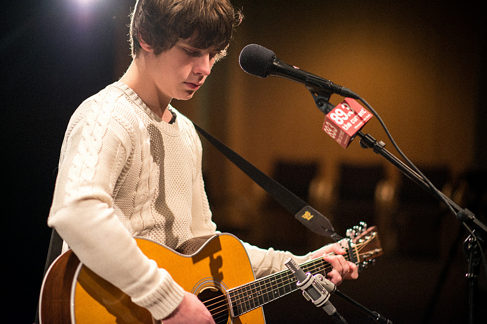 Jake Bugg performs live in the UBS Forum at Minnesota Public Radio.
