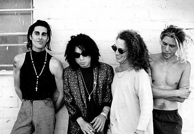 jane s addiction 1990 press photo