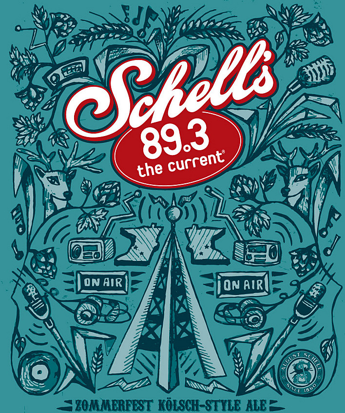 Schell's The Current beer, due out in May, 2014.